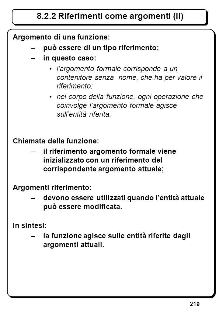 6.4.3 Istruzione for (II) // Scrive n asterischi, con n dato (i)