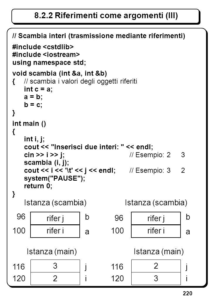 6.4.3 Istruzione for (III) // Scrive n asterischi, con n dato (ii)