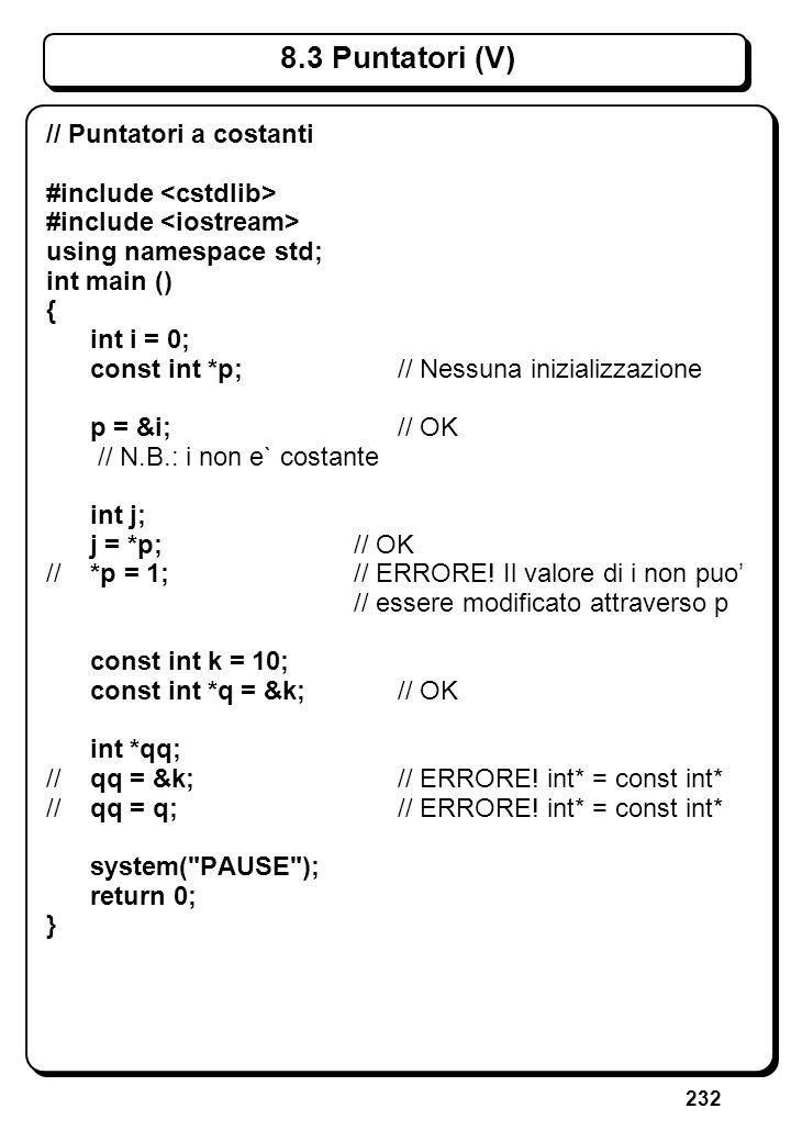 5.2 Lettura di Caratteri (I)