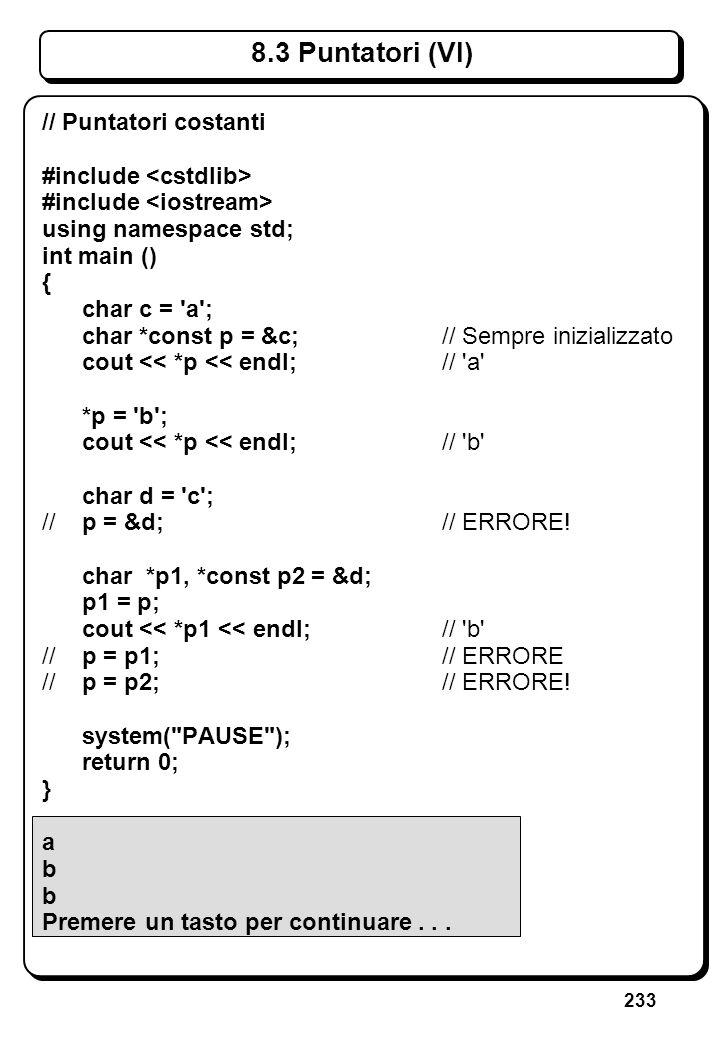 5.2 Lettura di Caratteri (II)