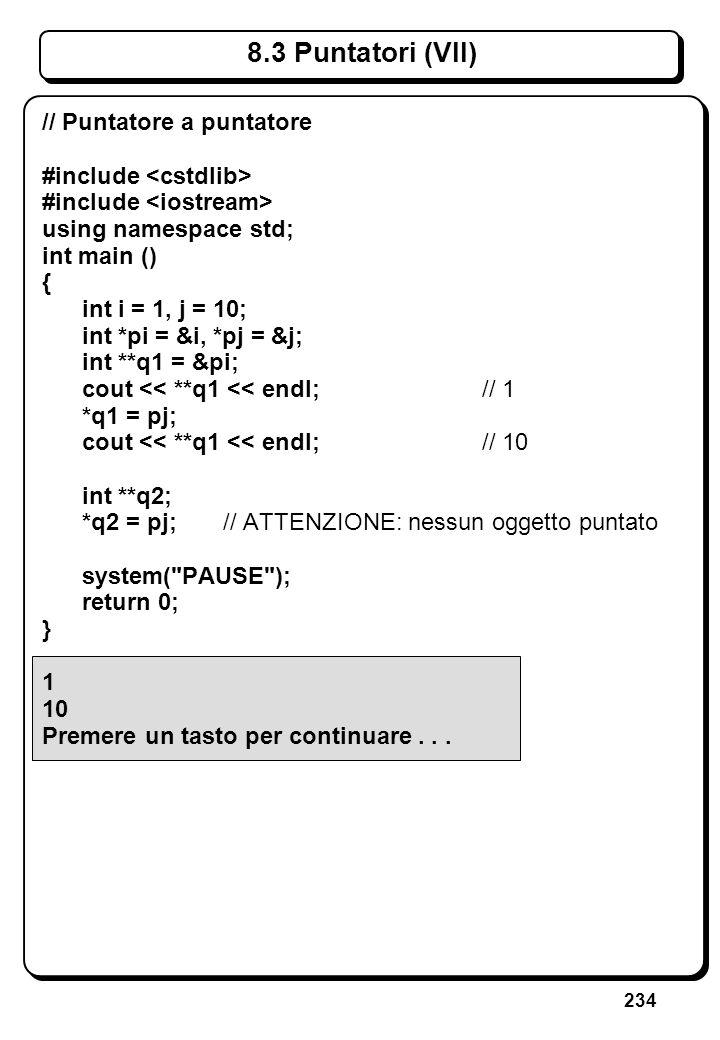 5.2 Lettura di Caratteri (III)
