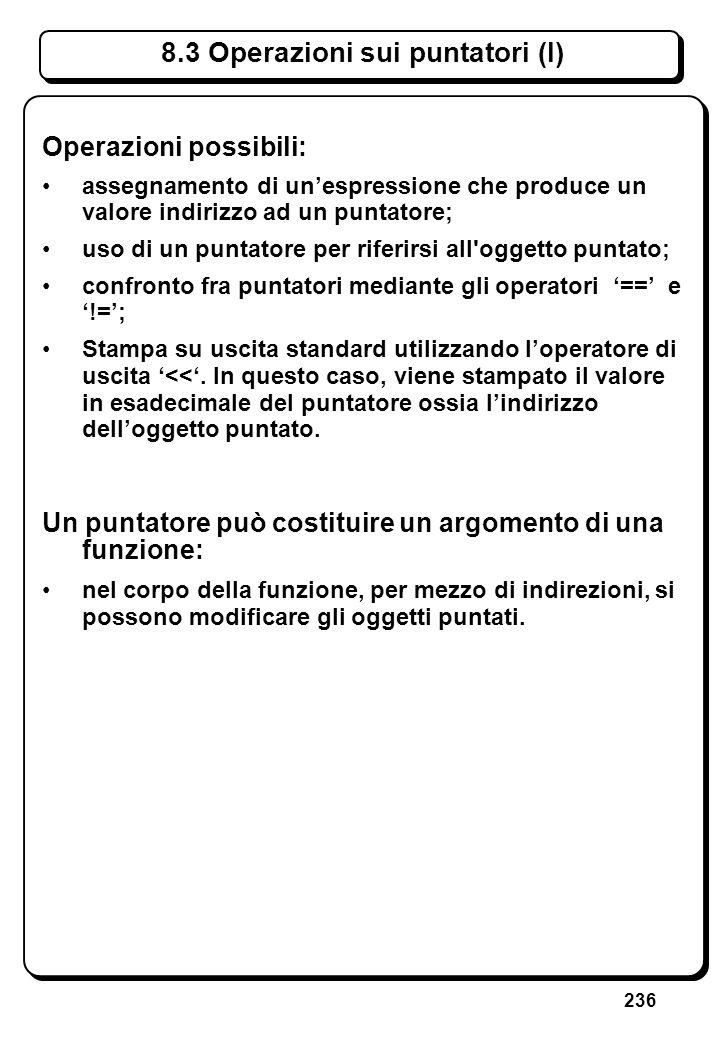 5.2 Lettura di Reali float f; cin >> f; Azione: