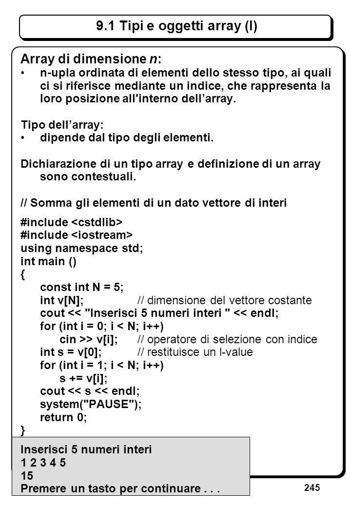 5.3 Errori sullo stream di ingresso (VIII)
