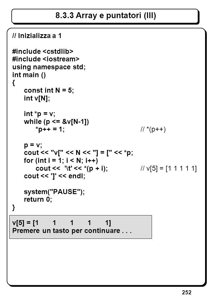 5.5 Manipolazione dei file (III)