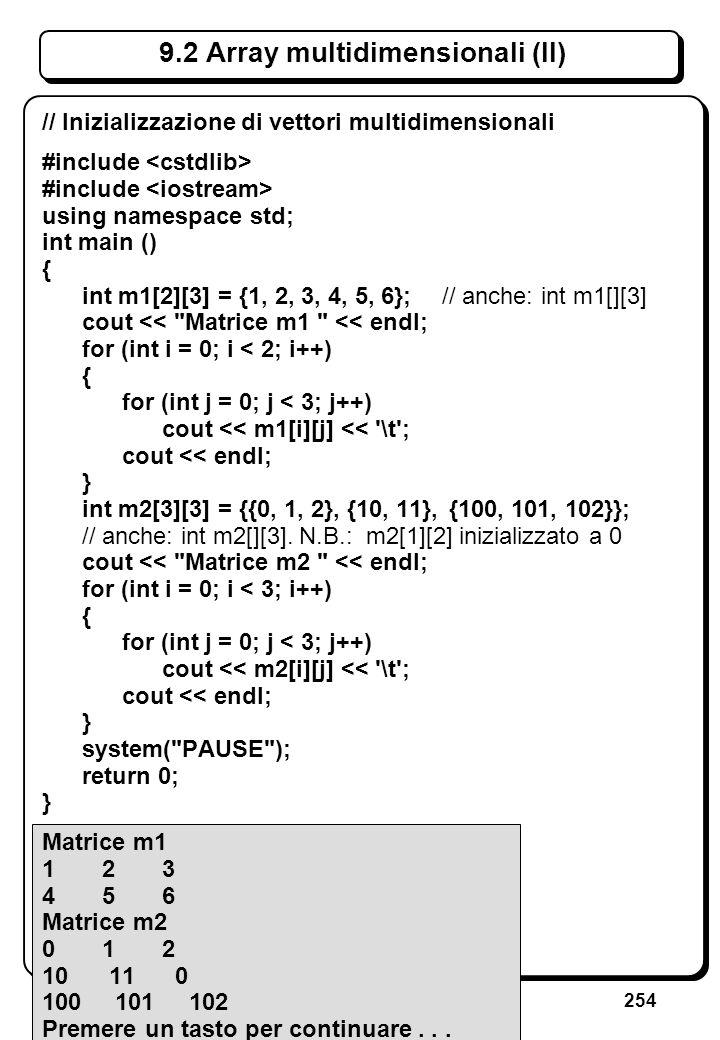 5.5 Manipolazione dei file (V)