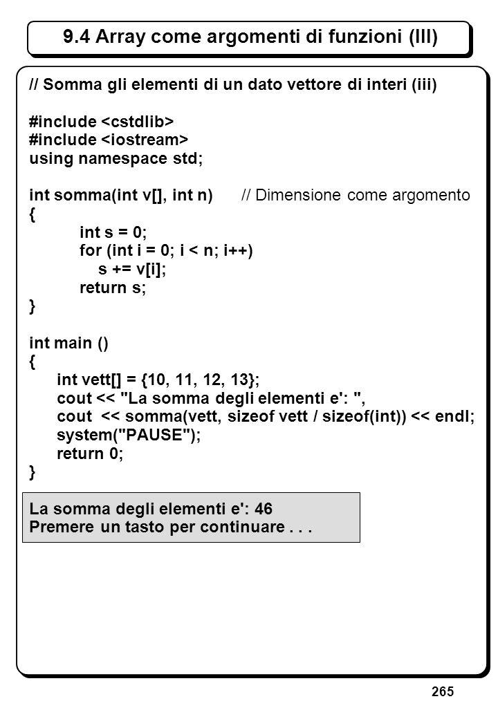 7.4 Dichiarazioni di funzioni (I)