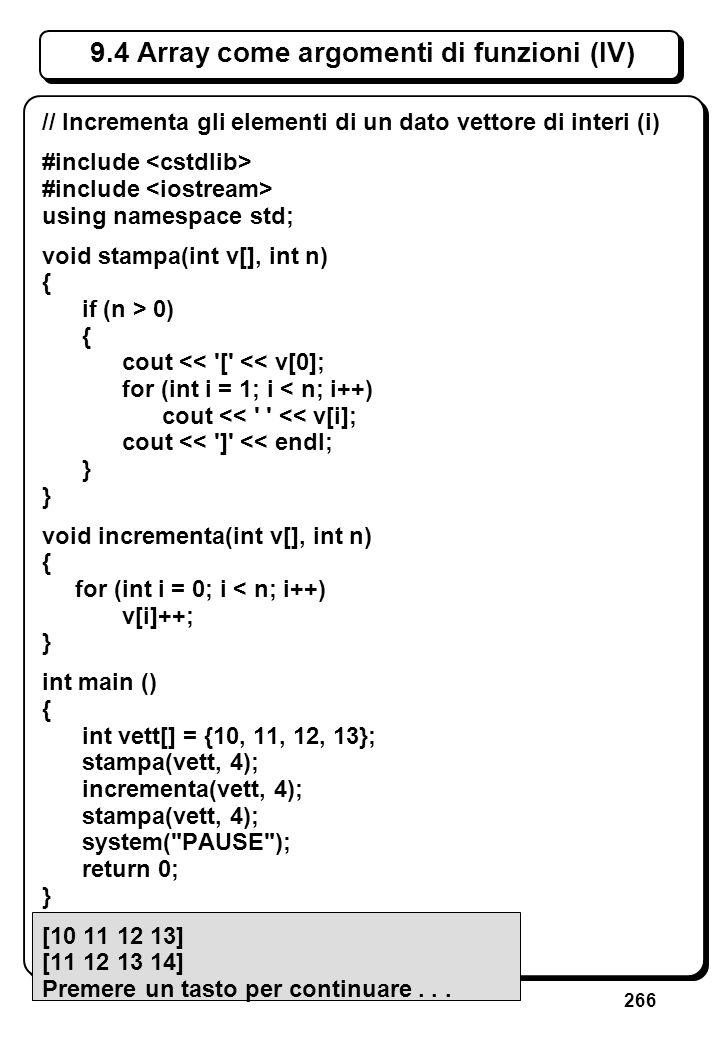 7.4 Dichiarazioni di funzioni (II)