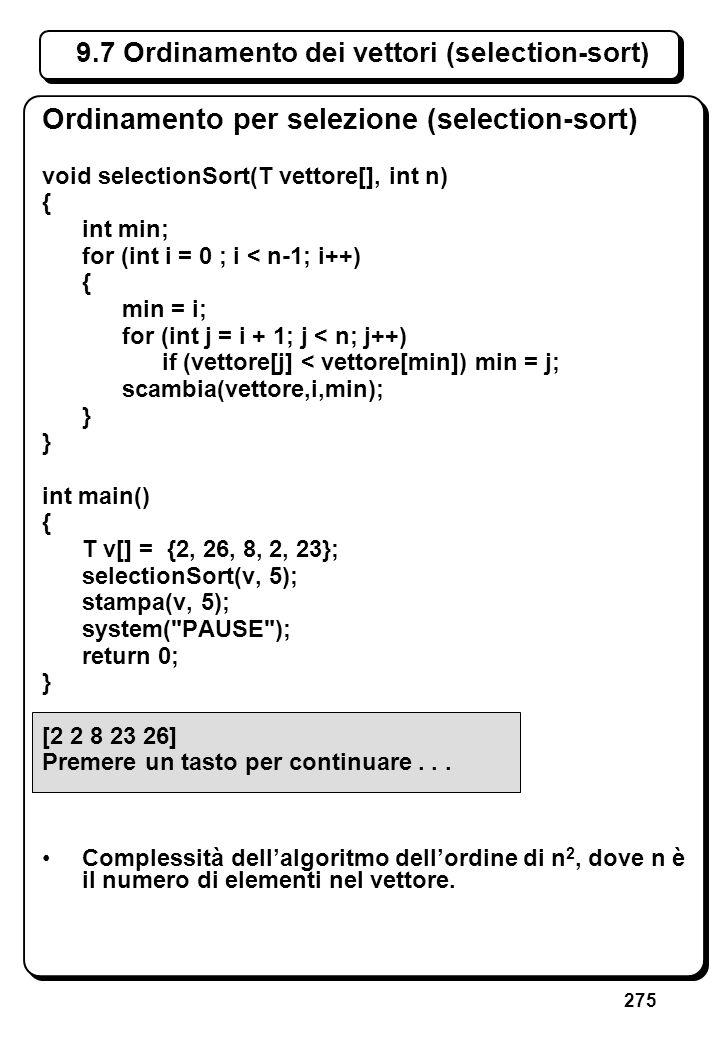 7.9 Funzioni ricorsive (V)