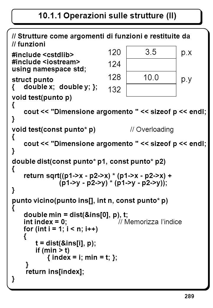 8.2.2 Riferimenti risultato di funzione (I)