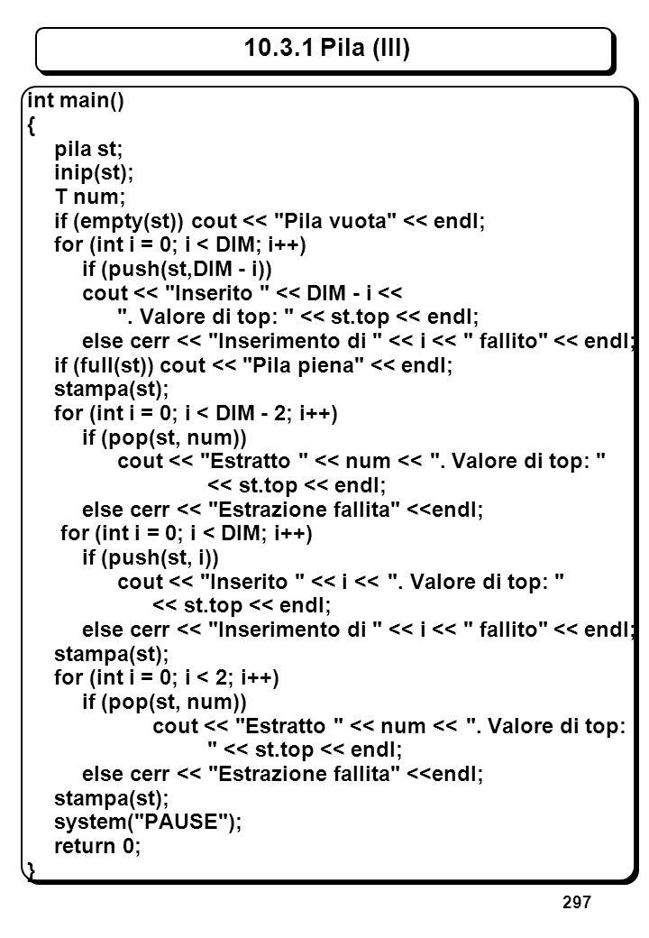 8.3 Puntatori (III) // Operatore indirizzo e operatore di indirezione