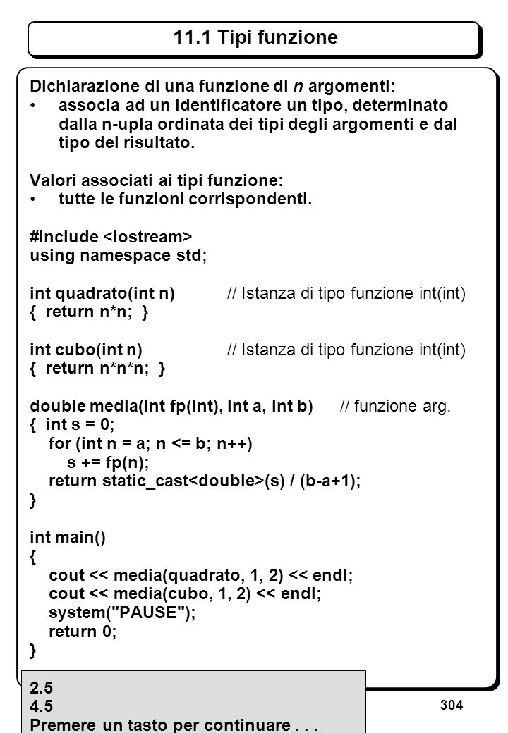 8.3.4 Puntatori come argomenti (I)