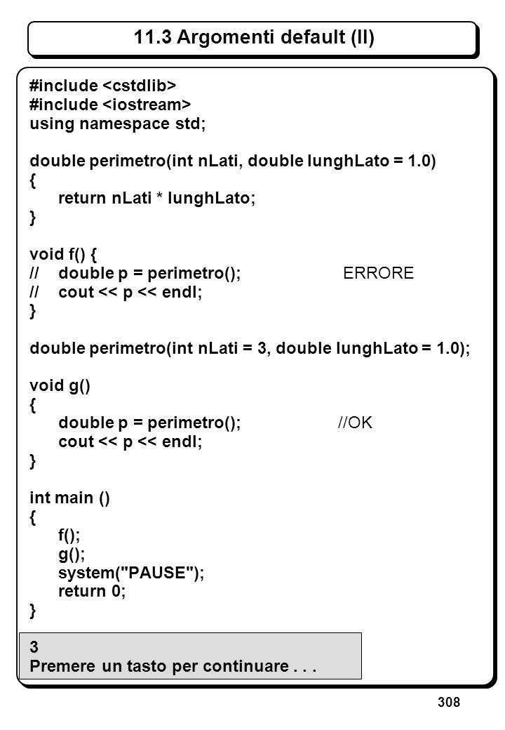 8.3.4 Puntatori come risultato di funzioni (II)