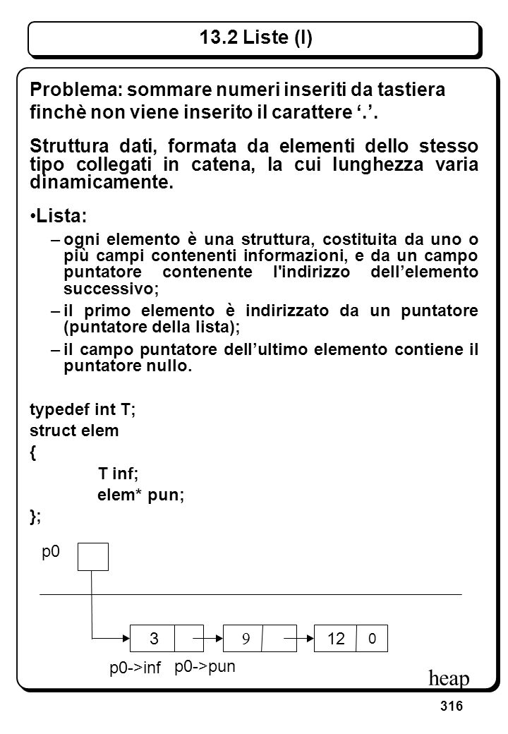 9.1 Tipi e oggetti array (V)