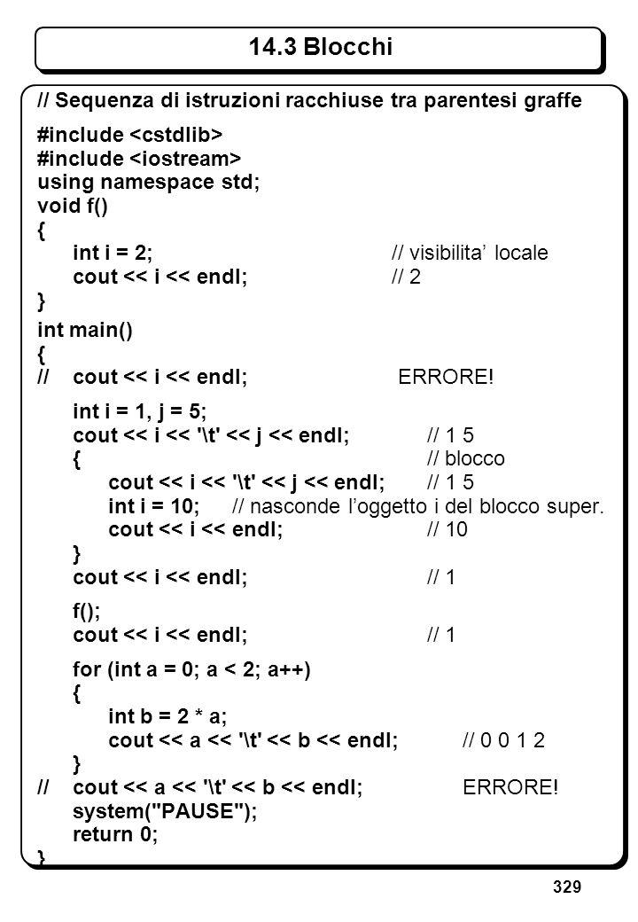 9.6 Funzioni di libreria sulle stringhe (IV)