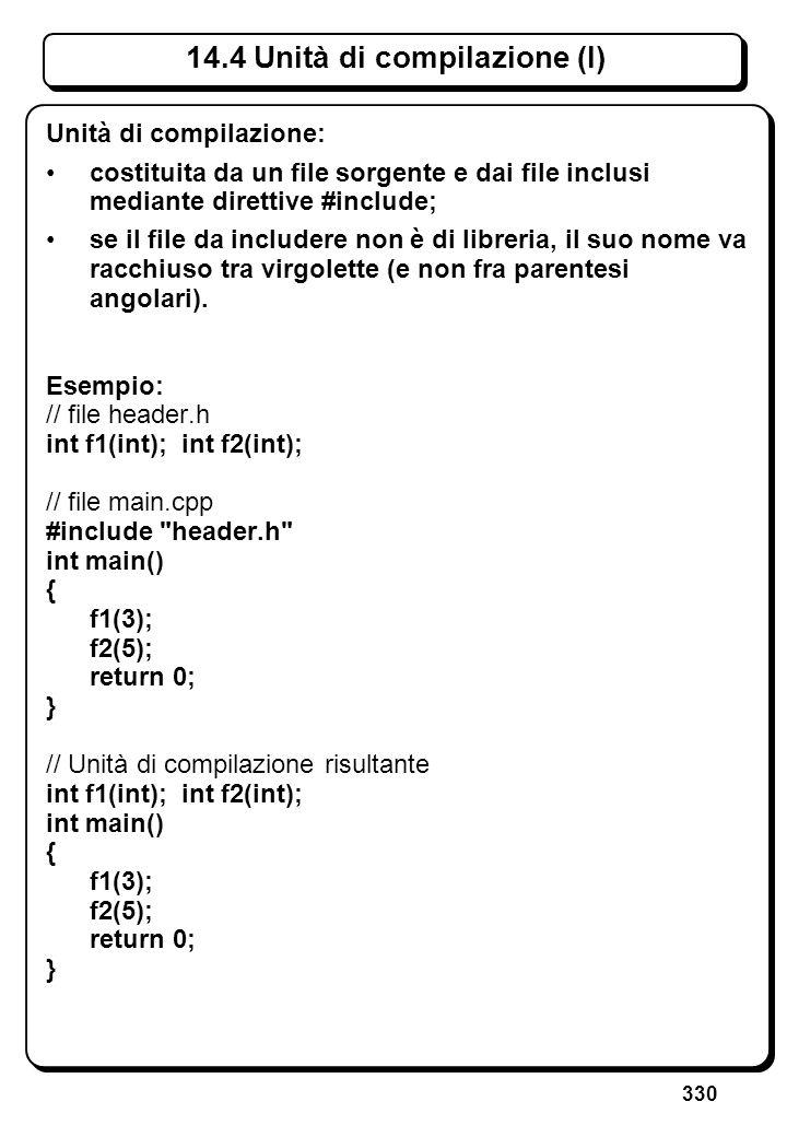 9.4 Array come argomenti di funzioni (I)