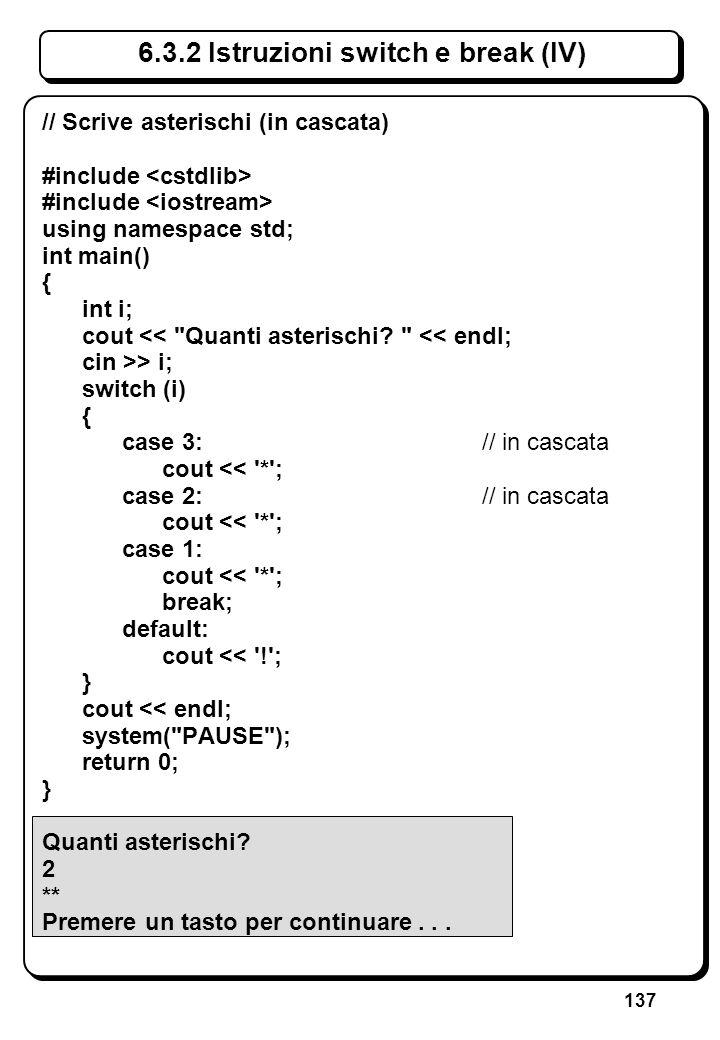 2.1 Metalinguaggio per il C++ (II)
