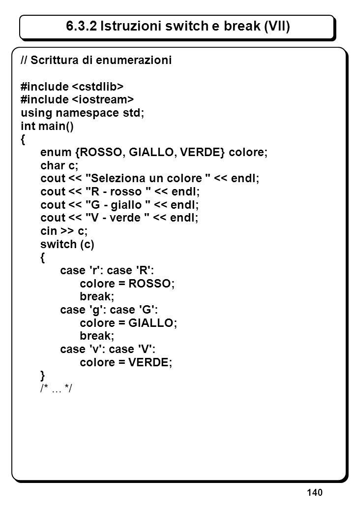 2.2 Sintassi C++ (I) Programma C++: Parole: