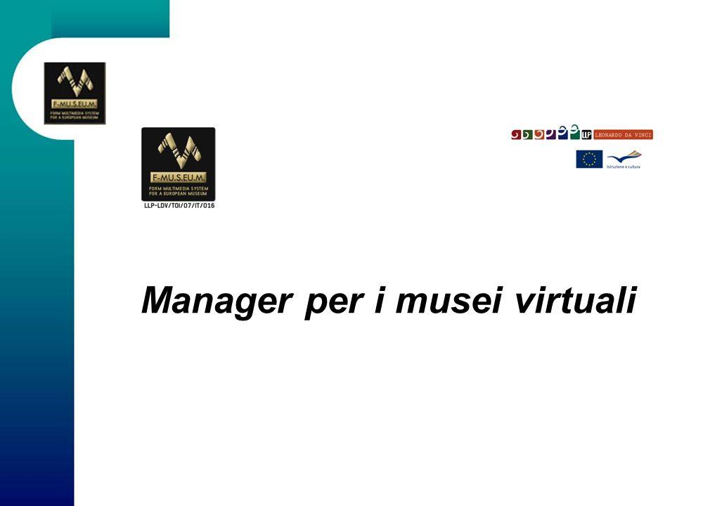 Manager per i musei virtuali
