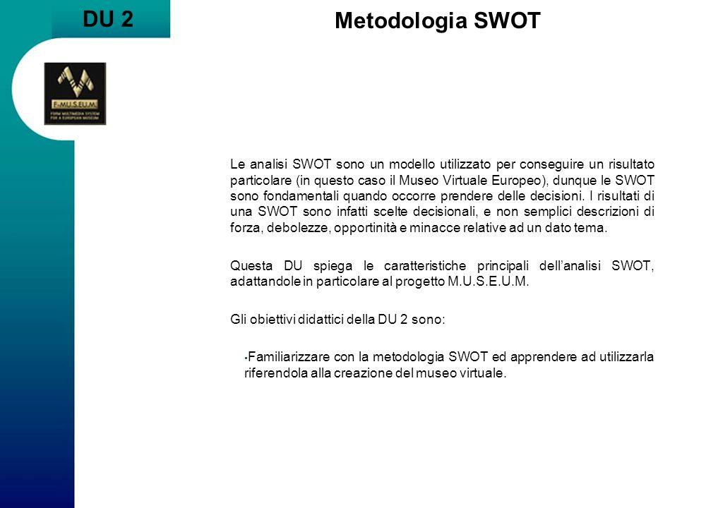 DU 2 Metodologia SWOT.