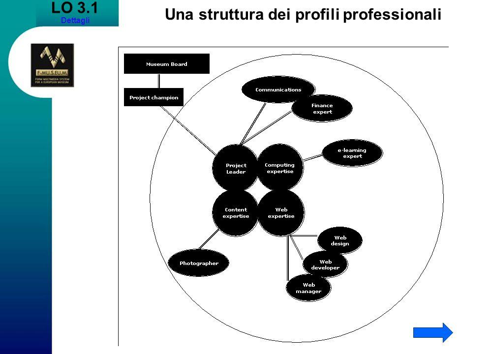 Una struttura dei profili professionali