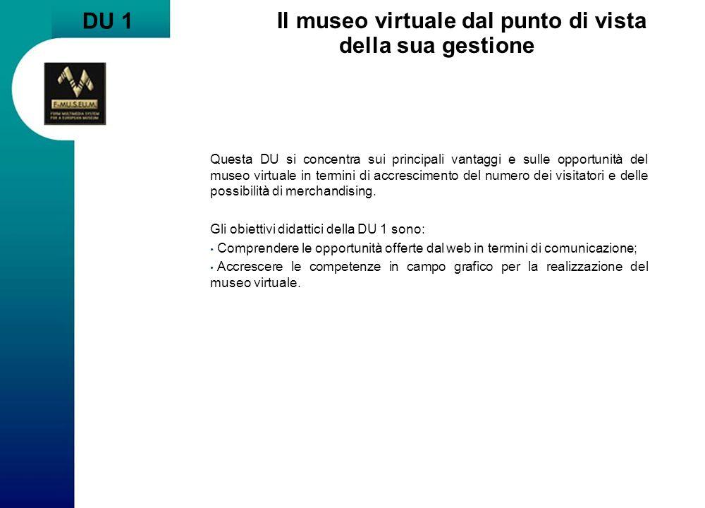 Il museo virtuale dal punto di vista della sua gestione