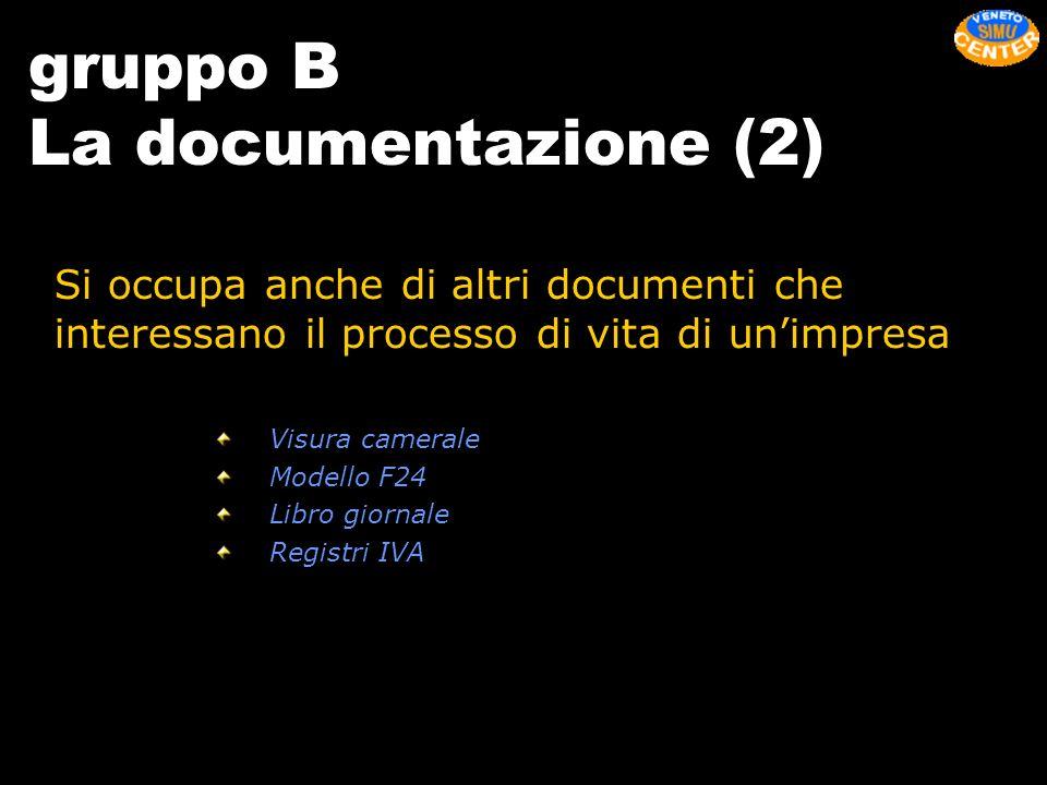 gruppo B La documentazione (2)