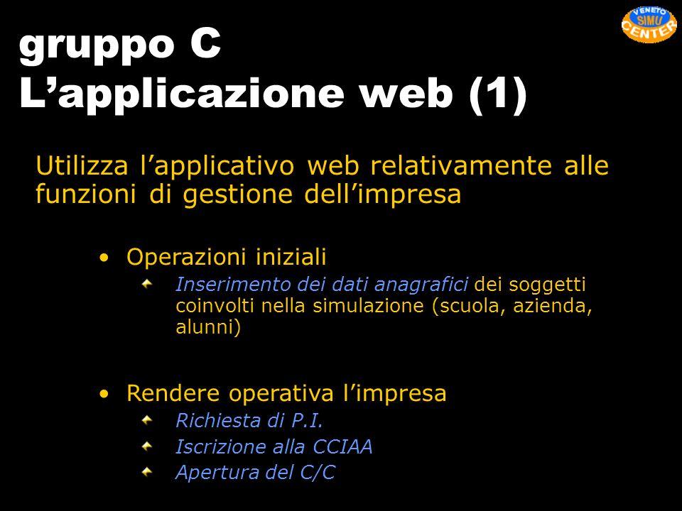gruppo C L'applicazione web (1)