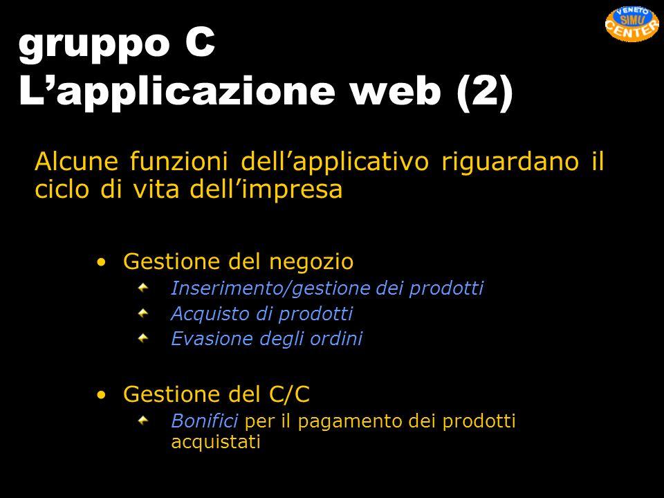 gruppo C L'applicazione web (2)