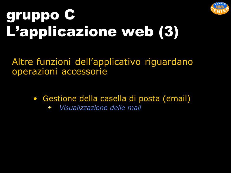 gruppo C L'applicazione web (3)