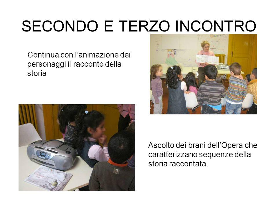 SECONDO E TERZO INCONTRO