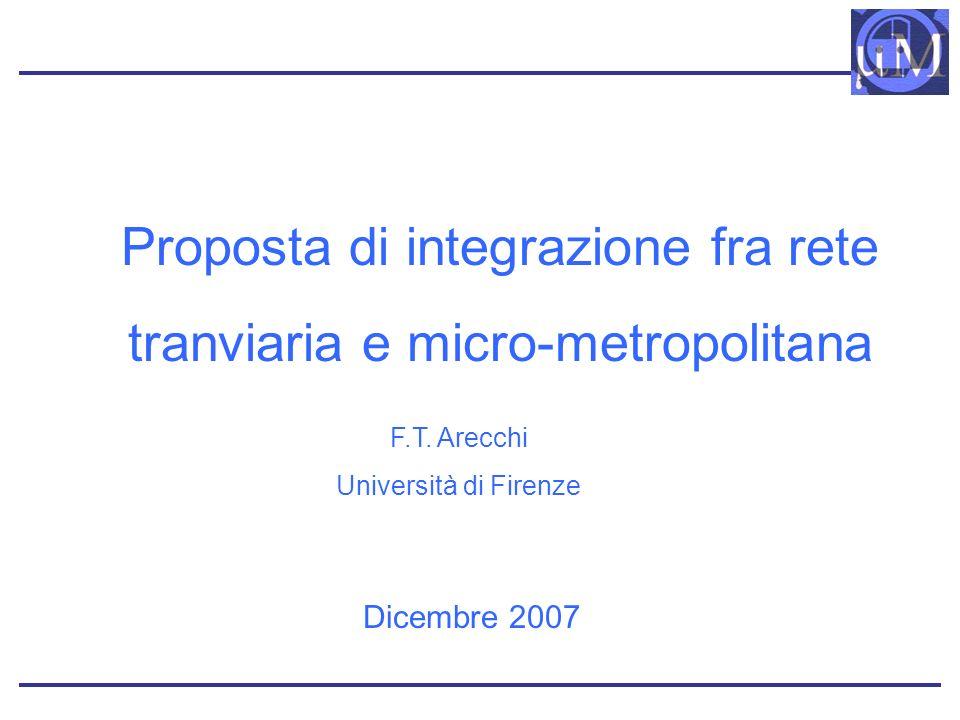 Proposta di integrazione fra rete tranviaria e micro-metropolitana