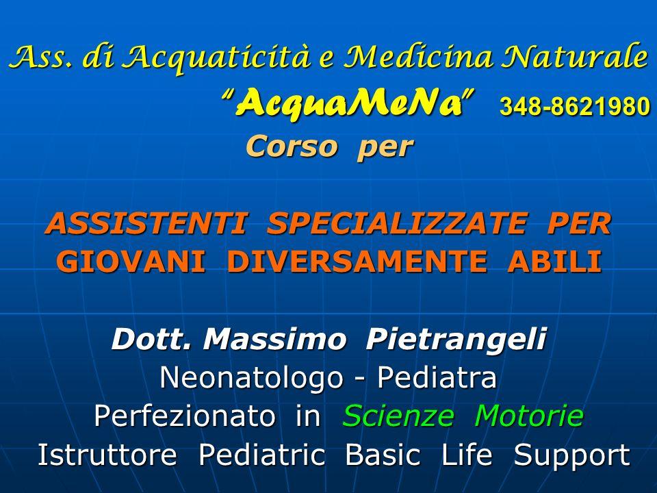 Ass. di Acquaticità e Medicina Naturale AcquaMeNa 348-8621980