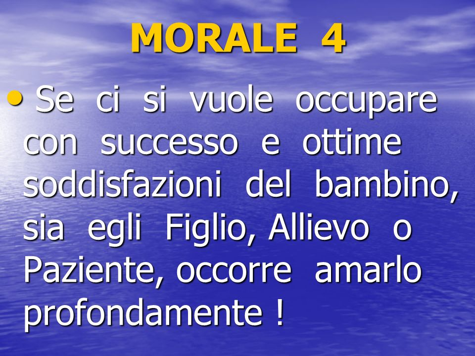 MORALE 4