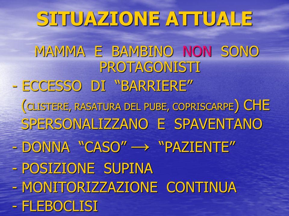 MAMMA E BAMBINO NON SONO PROTAGONISTI