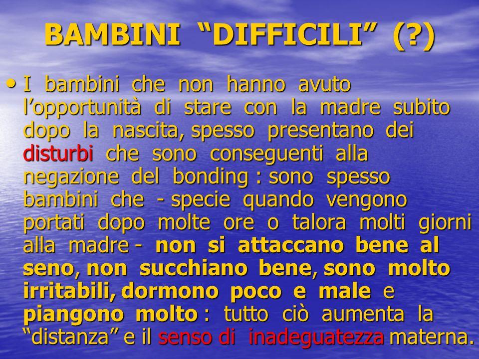 BAMBINI DIFFICILI ( )