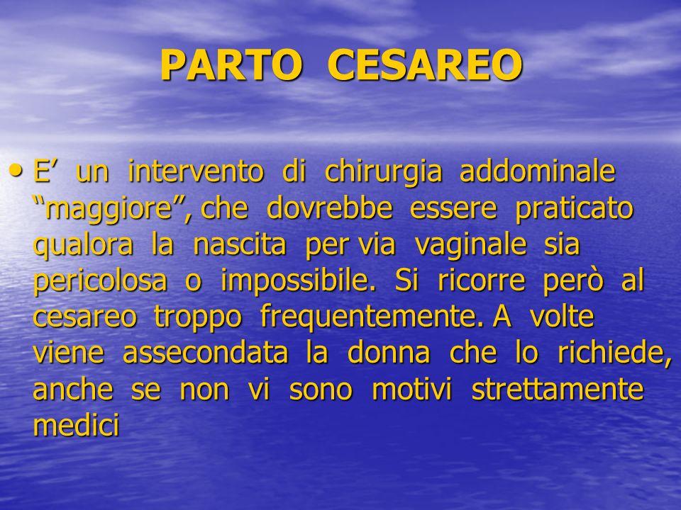 PARTO CESAREO