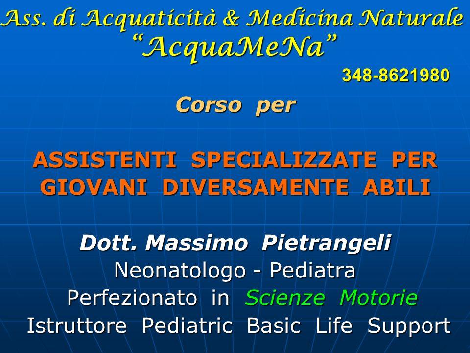 Ass. di Acquaticità & Medicina Naturale AcquaMeNa 348-8621980