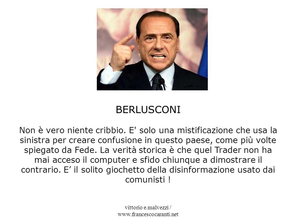 vittorio e.malvezzi / www.francescocaranti.net