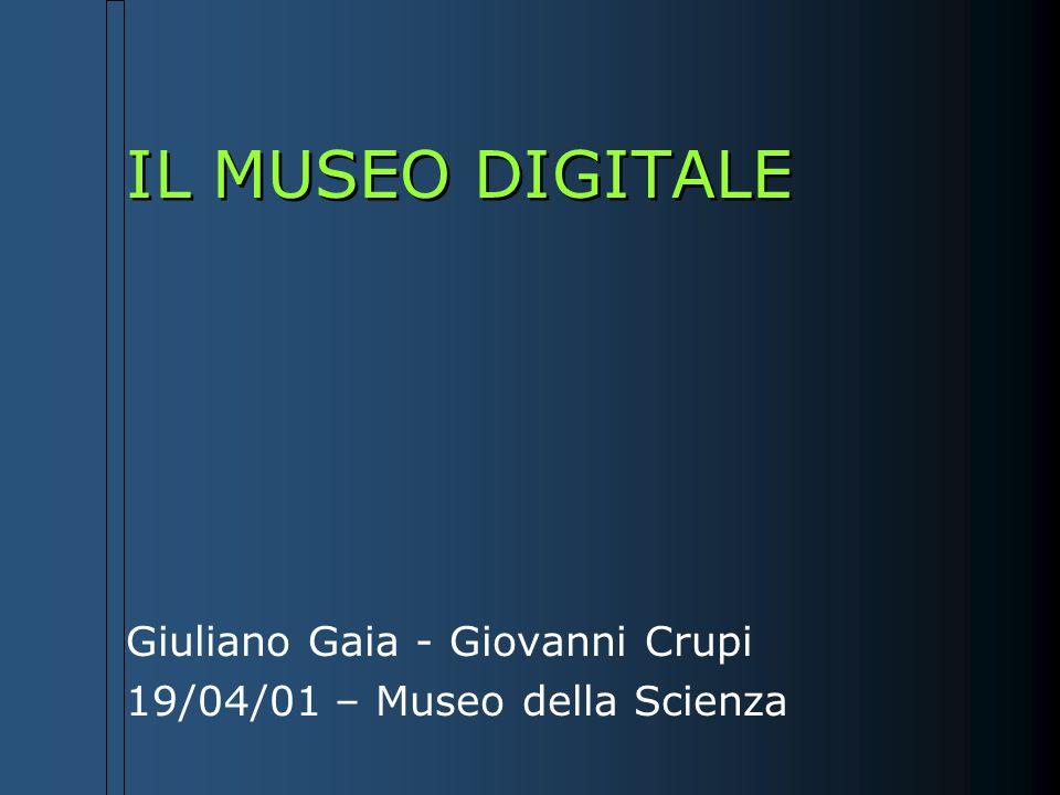 Giuliano Gaia - Giovanni Crupi 19/04/01 – Museo della Scienza