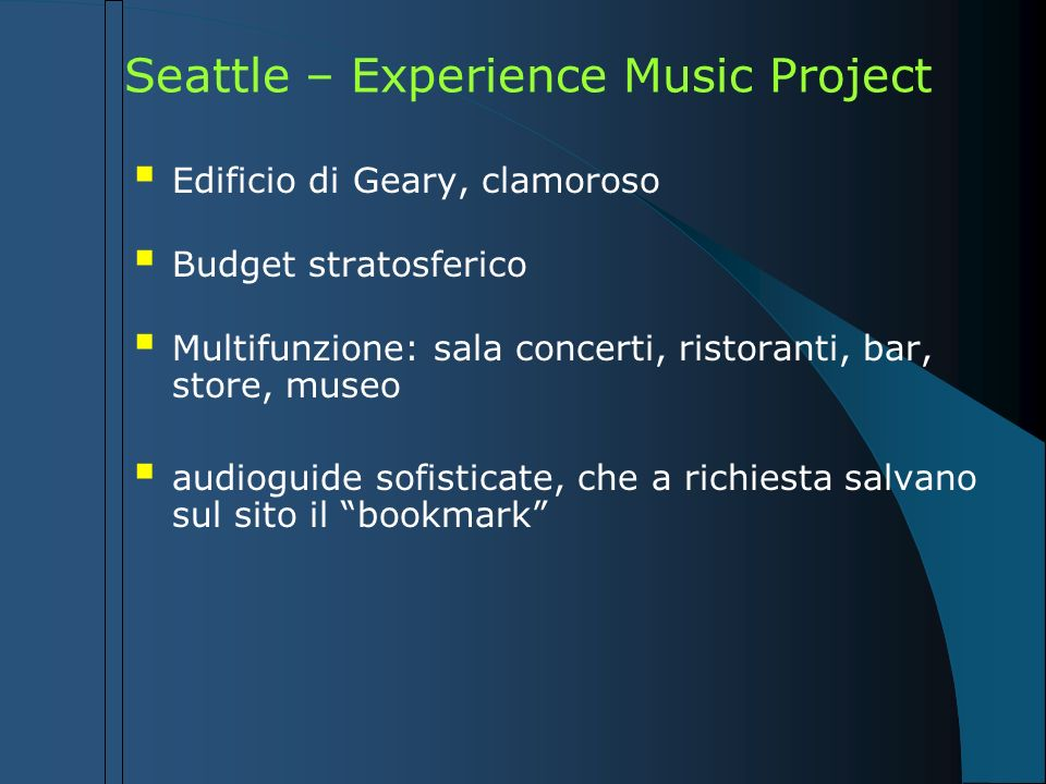 Seattle – Experience Music Project