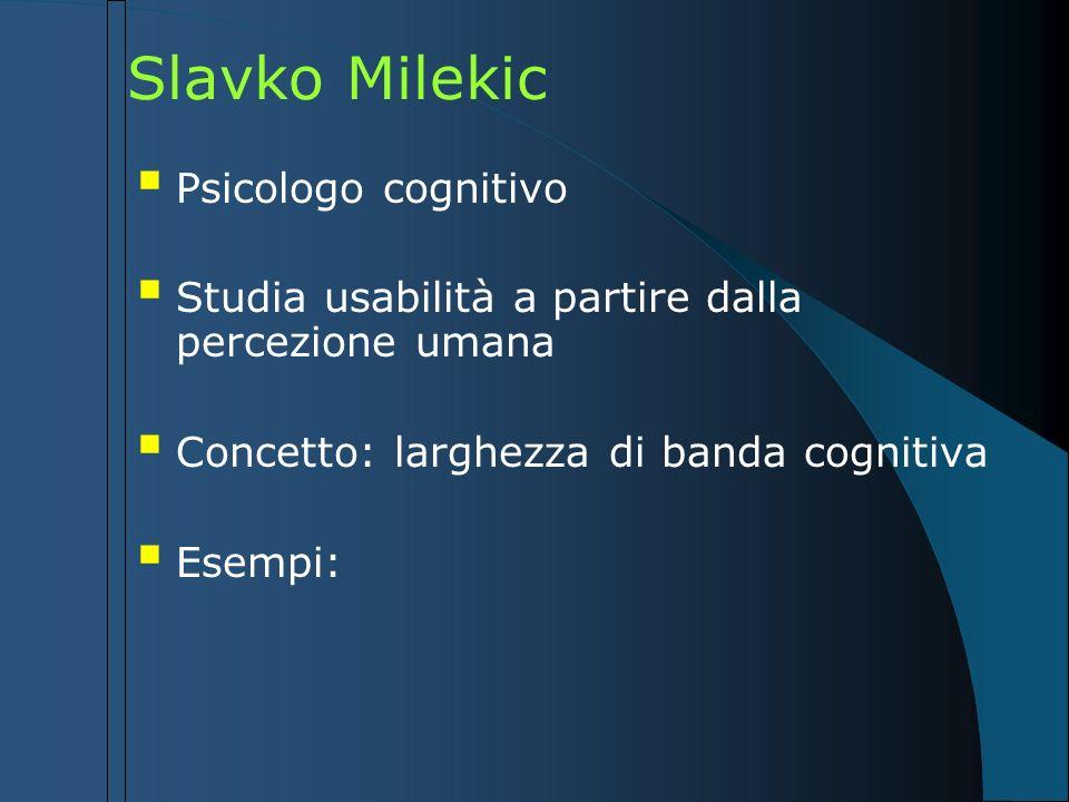 Slavko Milekic Psicologo cognitivo