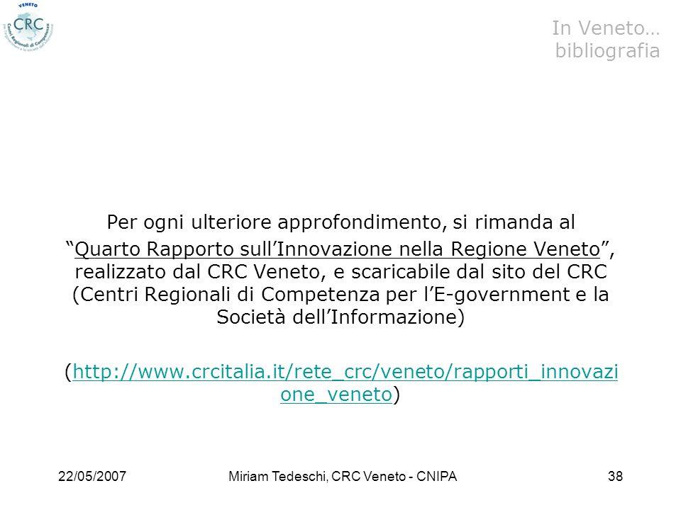 In Veneto… bibliografia