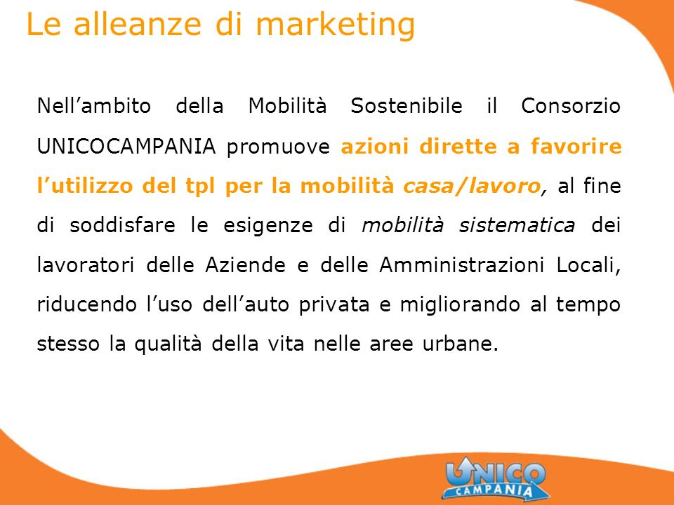 Le alleanze di marketing