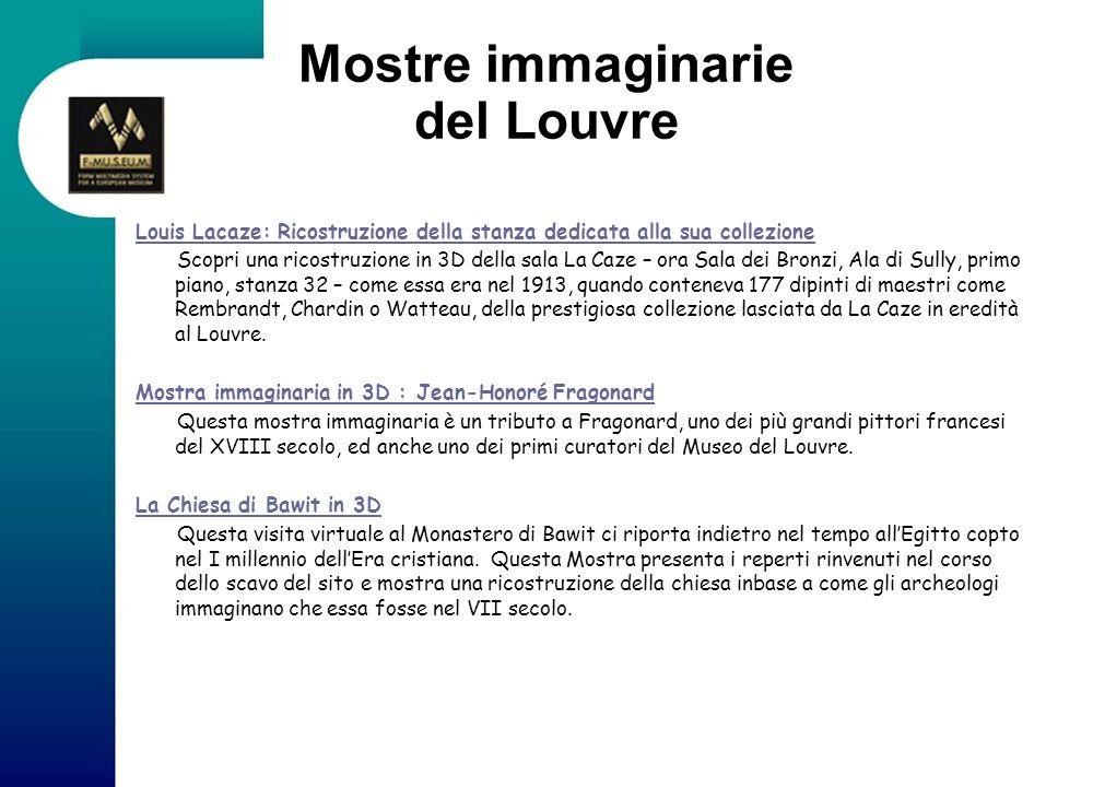 Mostre immaginarie del Louvre