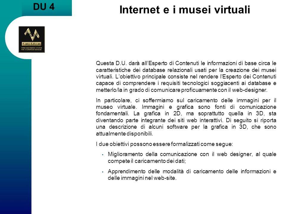 Internet e i musei virtuali