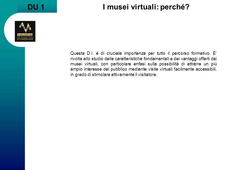 I musei virtuali: perché