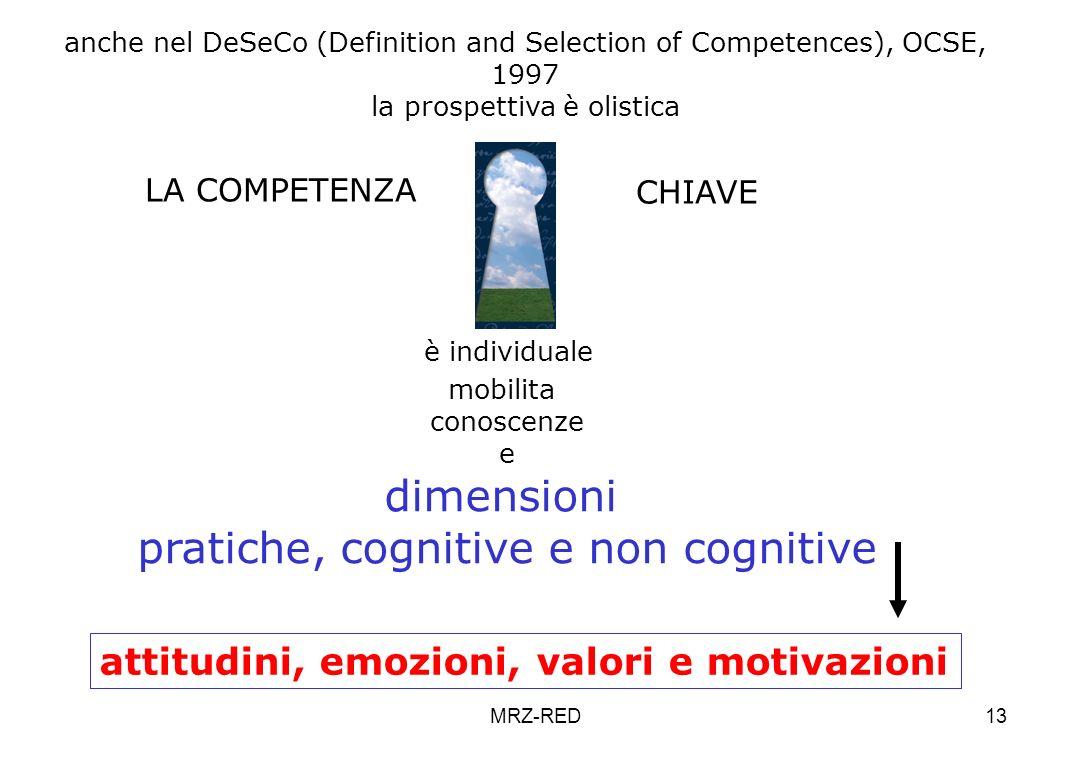 pratiche, cognitive e non cognitive