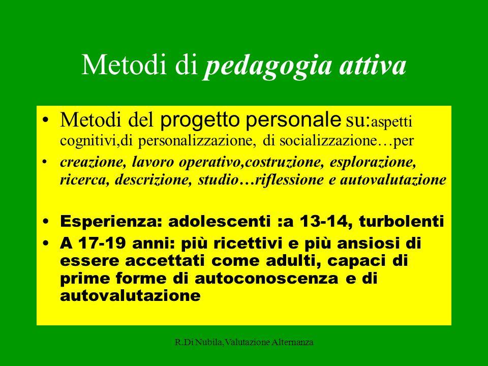 Metodi di pedagogia attiva