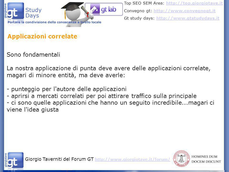 Applicazioni correlate