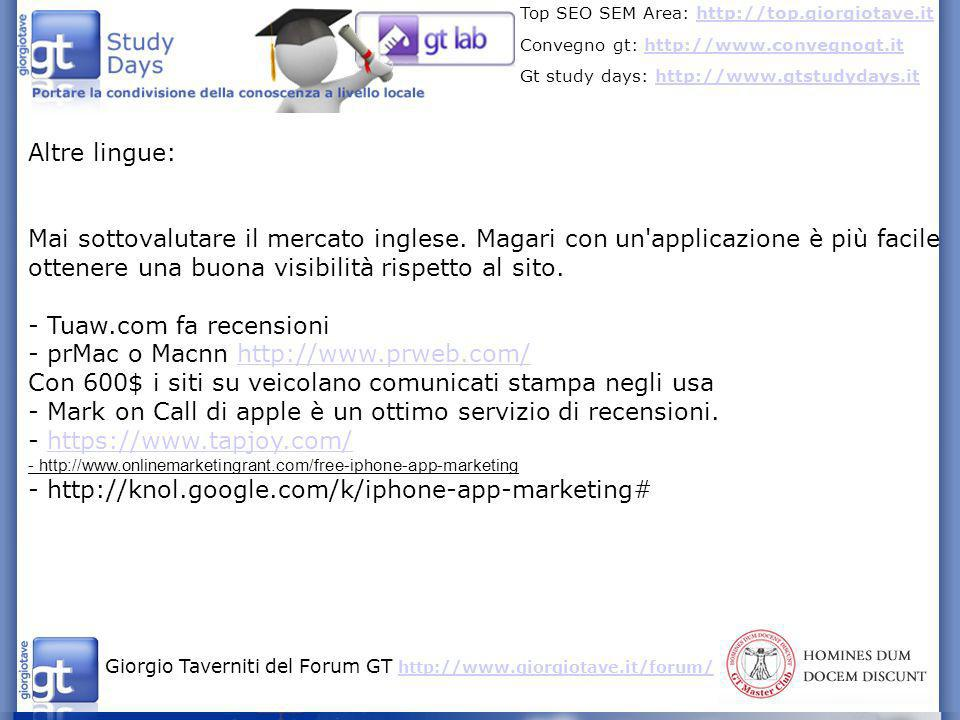 - Tuaw.com fa recensioni - prMac o Macnn http://www.prweb.com/